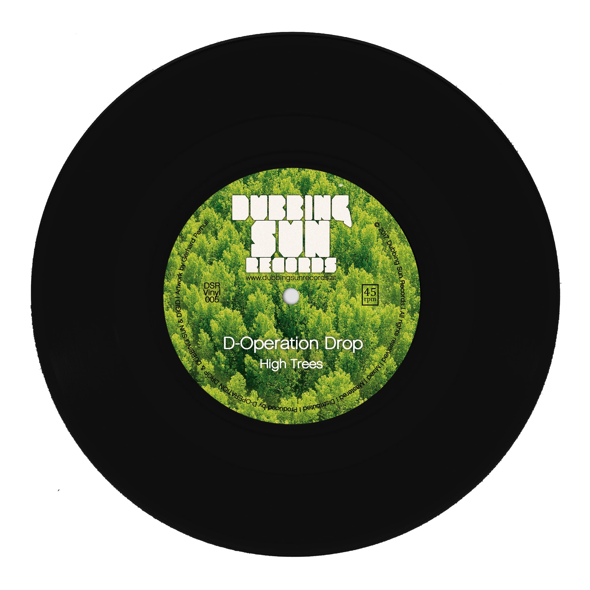 "D-Operation Drop - High Trees [7"" Vinyl]"