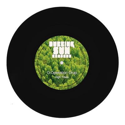 "D-Operation Drop - High Trees [7"" Vinyl] - Unearthed Sounds, Vinyl, Record Store, Vinyl Records"