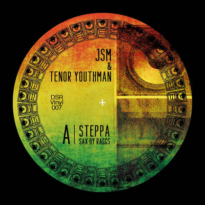 "JSM & Tenor Youthman - Steppa / Dubbing Sun & Blue Hill Remix [7"" Vinyl] - Unearthed Sounds"