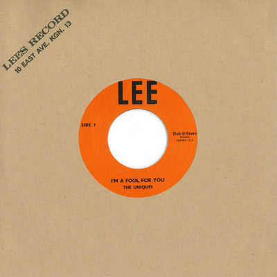 "The Uniques & Lester Sterling - I'm a Fool for You / Super Special [7"" Vinyl] - Unearthed Sounds"