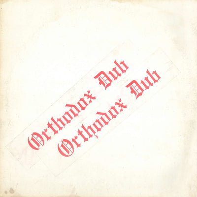 "Errol Brown - Orthodox Dub [12"" Vinyl LP] - Unearthed Sounds"