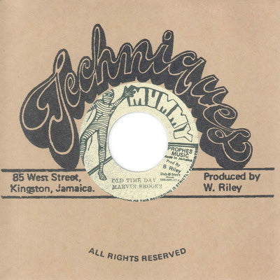 "Marvin Brooks & Mercenaries -  Old Time Day [7"" Vinyl] , Vinyl - Dub Store Records, Unearthed Sounds"