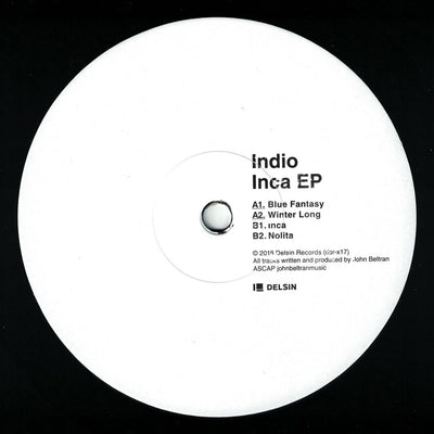 Indio - Inca EP - Unearthed Sounds