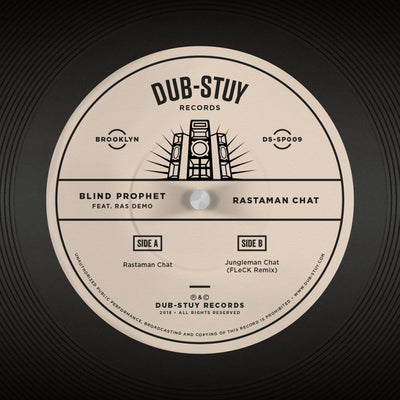 Blind Prophet - Rastaman Chat (feat. Ras Demo) - Unearthed Sounds, Vinyl, Record Store, Vinyl Records