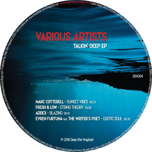 Various Artists - Talkin Deep EP , Vinyl - Deep Site Vinylized, Unearthed Sounds