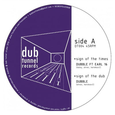 Dubble feat. Earl 16 - Sign of the Times - Unearthed Sounds