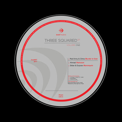 Various Artists - Three Squared EP Vol 1 , Vinyl - Dust Audio, Unearthed Sounds
