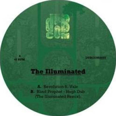 "The Illuminated & Blind Prophet ft Vale - Revolution [7"" Vinyl] - Unearthed Sounds, Vinyl, Record Store, Vinyl Records"