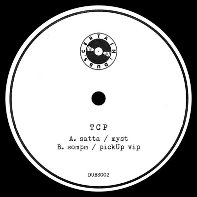 "TCP - Past Futuristic Dubs [Limited 12"" Vinyl] - Unearthed Sounds, Vinyl, Record Store, Vinyl Records"