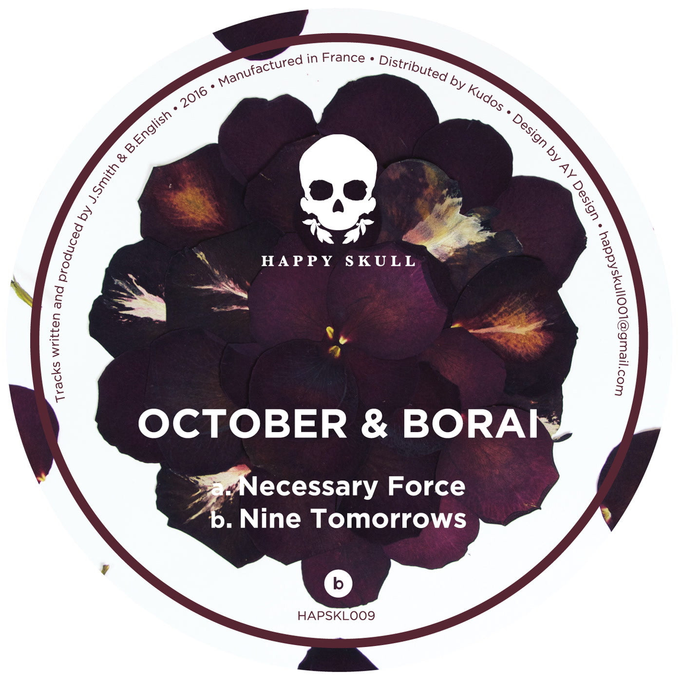 October & Borai - Necessary Force / Nine Tomorrows - Unearthed Sounds