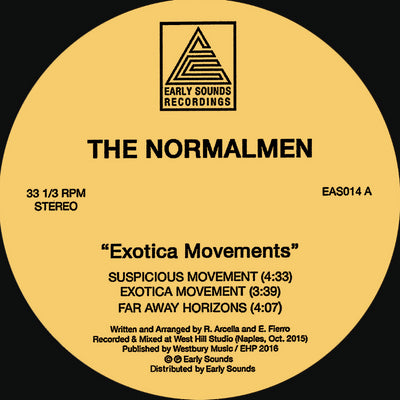 The Normalmen - Exotica Movement - Unearthed Sounds, Vinyl, Record Store, Vinyl Records