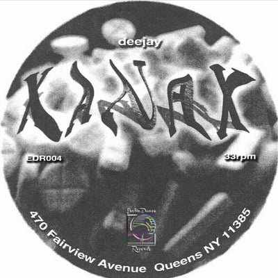 Deejay Xanax - EDR004 , Vinyl - Exotic Dance, Unearthed Sounds