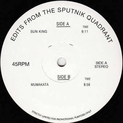 Sputnik - Edits From The Sputnik Quadrant , Vinyl - Edits From, Unearthed Sounds