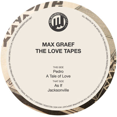 Max Graef - The Love Tapes - Unearthed Sounds