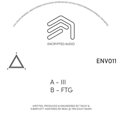 ENV011 - III / FTG - Unearthed Sounds
