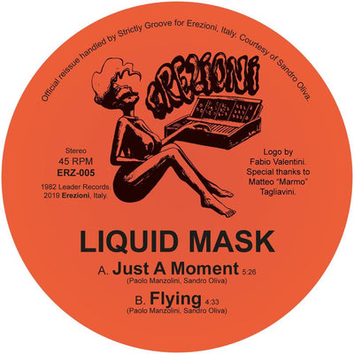 Liquid Mask - Just A Moment [official re-issue] - Unearthed Sounds