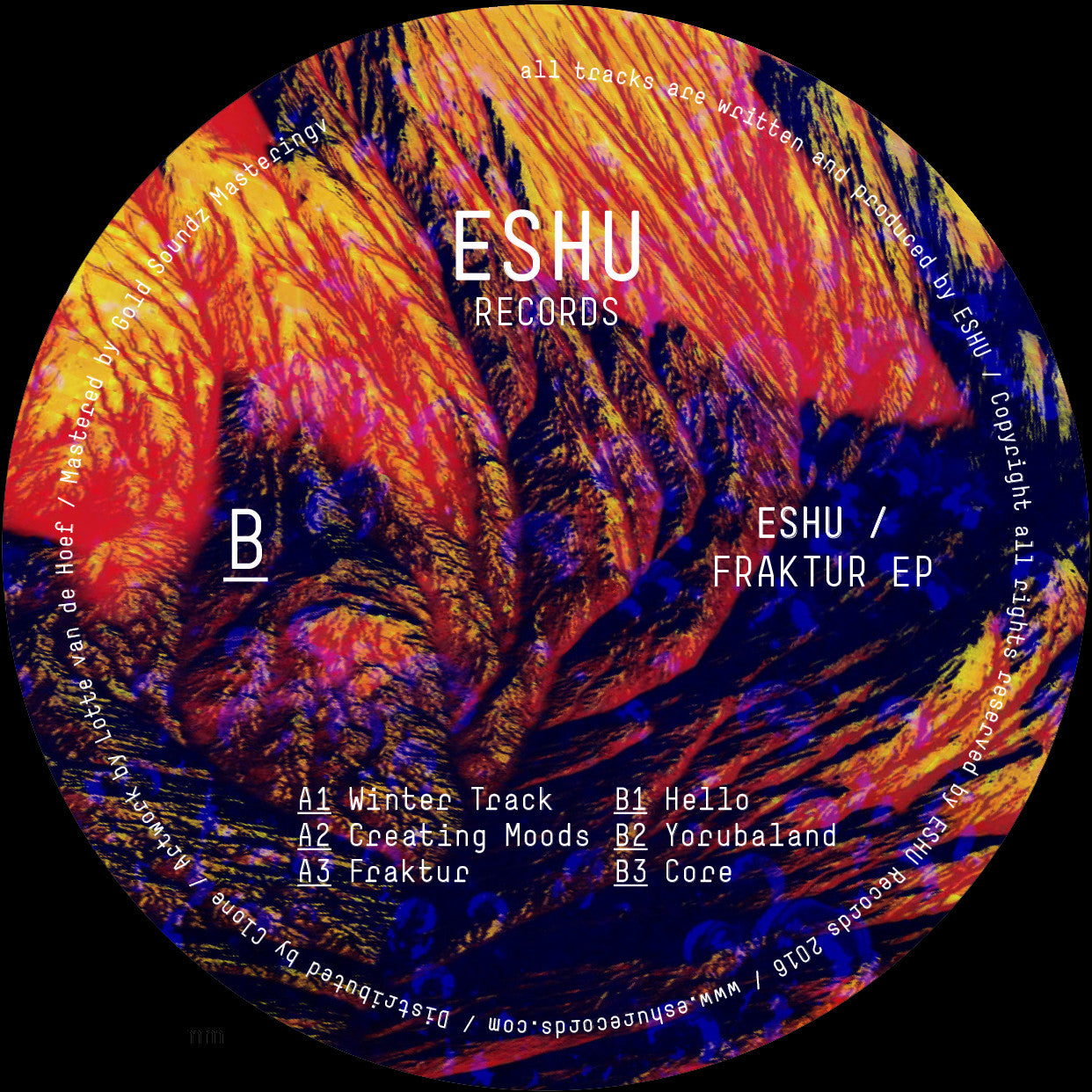 Eshu - Fraktur EP , Vinyl - ESHU Records, Unearthed Sounds
