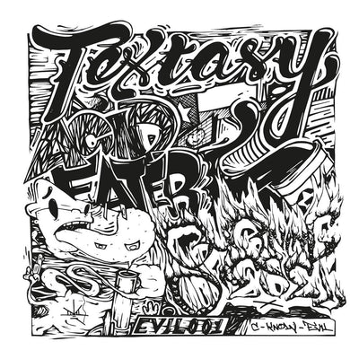 "Textasy - Acid Eater / Burning Diesel [10"" Vinyl] - Unearthed Sounds, Vinyl, Record Store, Vinyl Records"