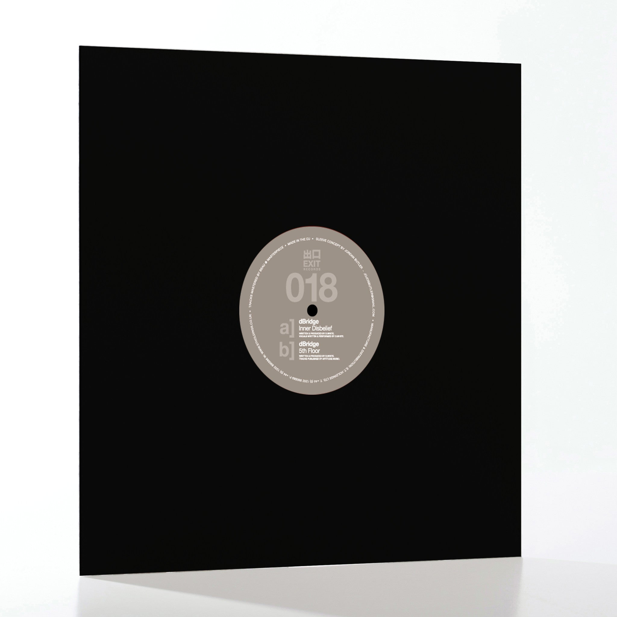dBridge - Inner Disbelief , Vinyl - Exit Records, Unearthed Sounds