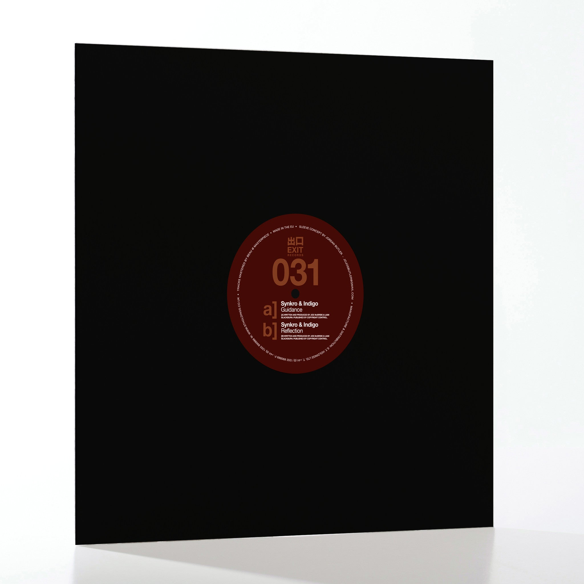 Synkro / Indigo - Guidance / Reflection , Vinyl - Exit Records, Unearthed Sounds