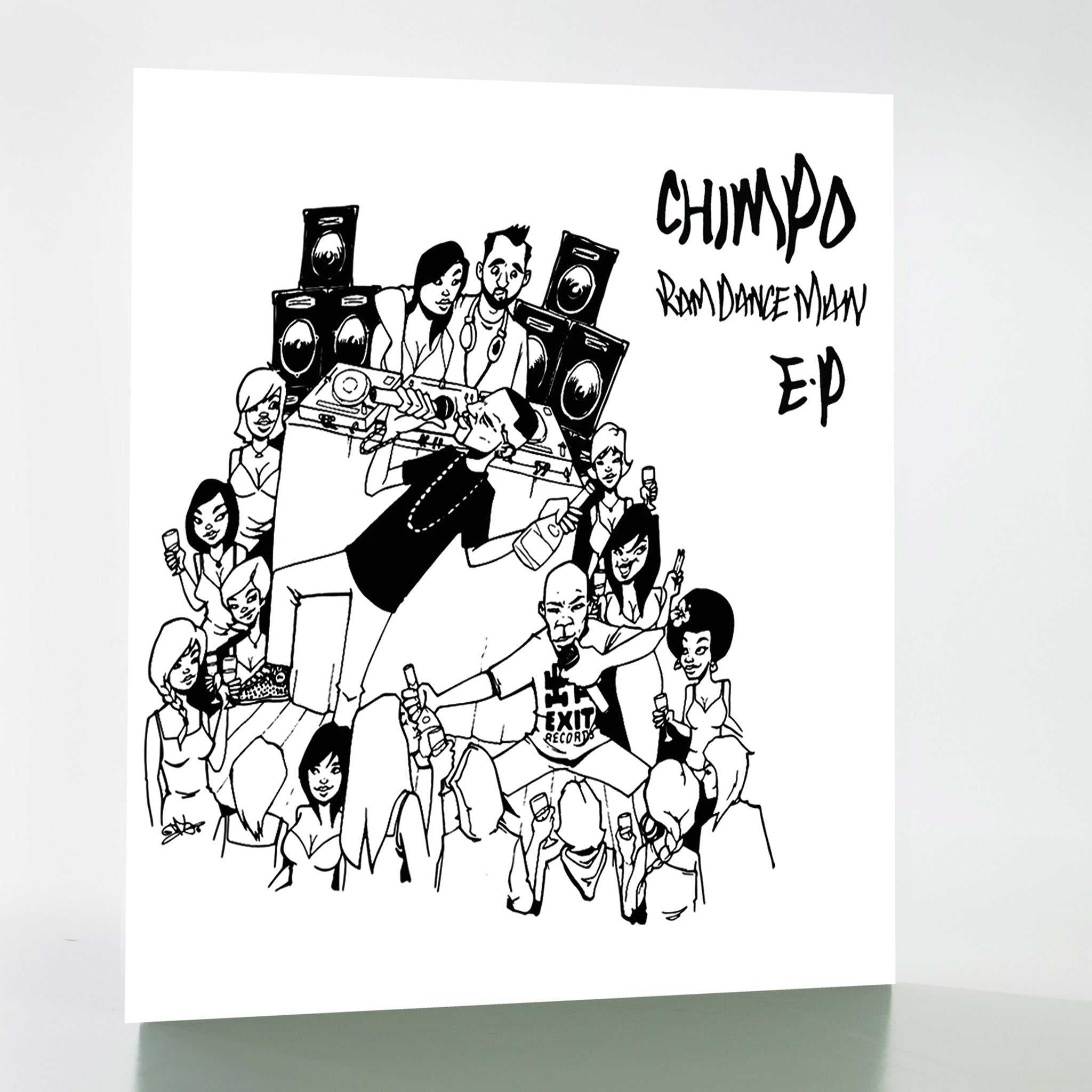 Chimpo - Ram Dance Man EP , Vinyl - Exit Records, Unearthed Sounds