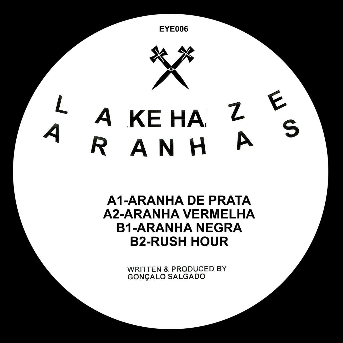 Lake Haze - Aranhas EP , Vinyl - One Eyed Jacks, Unearthed Sounds