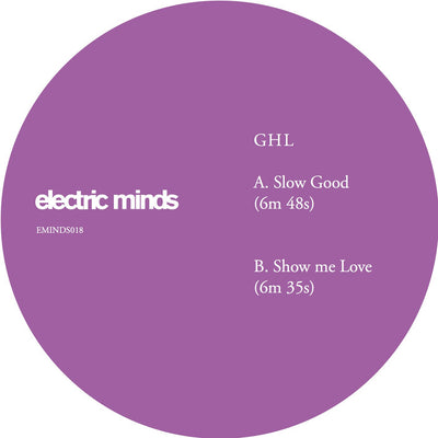 GHL - Slow Good - Unearthed Sounds