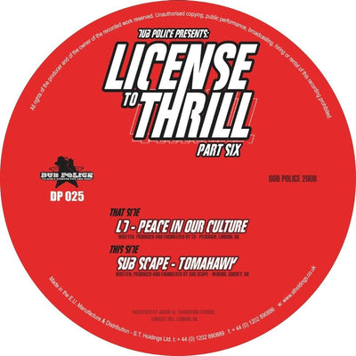 LD / Subscape - License to Thrill: Pt. 6 - Unearthed Sounds