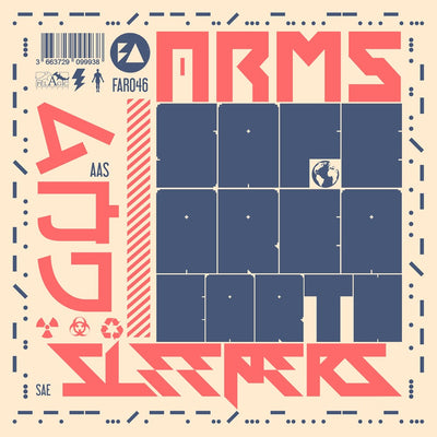 "Arms And Sleepers - Safe Area Earth [2x12"" Marbled Vinyl]"