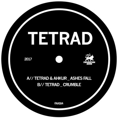 Tetrad & Ahkur – Ashes Fall / Tetrad - Crumble - Unearthed Sounds, Vinyl, Record Store, Vinyl Records