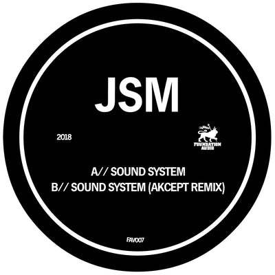 JSM - Sound System / Akcept Remix - Unearthed Sounds, Vinyl, Record Store, Vinyl Records