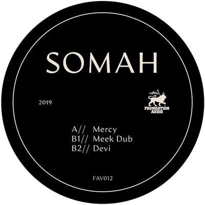 Somah - Mercy EP [Heavyweight Vinyl] - Unearthed Sounds, Vinyl, Record Store, Vinyl Records