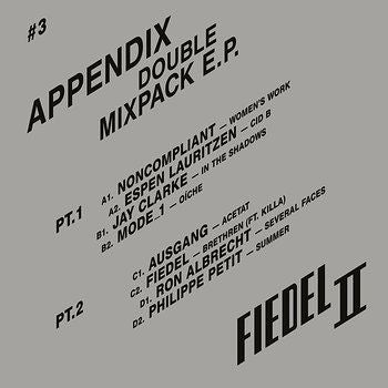 "Various Artists ‎- Appendix Double Mixpack EP [2x12"" Vinyl]"