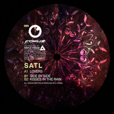 Satl - Lovers EP , Vinyl - Fokuz Recordings, Unearthed Sounds