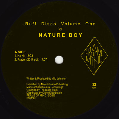 "Nature Boy -  Ruff Disco Volume One [2x12"" Vinyl]"