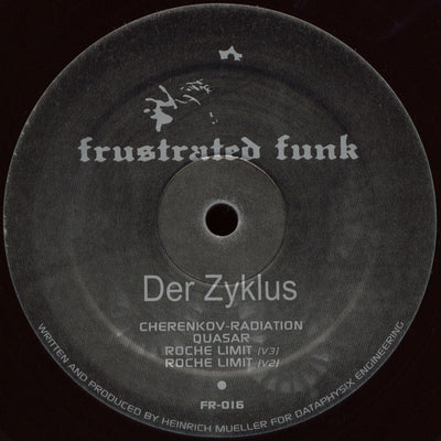 Der Zyklus - Cherenkov Radiation - Unearthed Sounds, Vinyl, Record Store, Vinyl Records