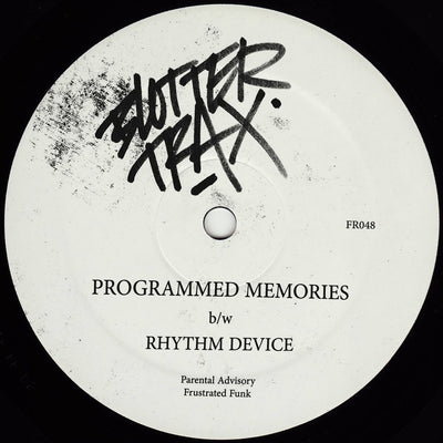 Blotter Trax - Programmed Memories / Rhythm Device - Unearthed Sounds