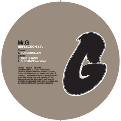 Mr. G - Reflection - Unearthed Sounds