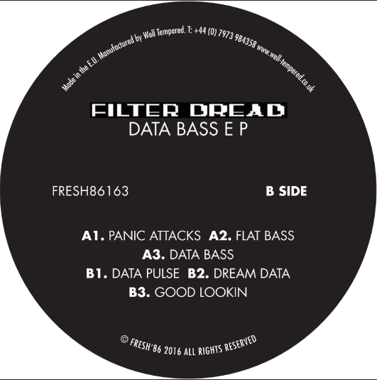 Filter Dread - Data Bass , Vinyl - Fresh 86, Unearthed Sounds