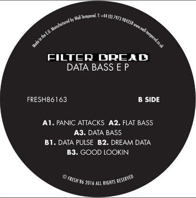 Filter Dread - Data Bass - Unearthed Sounds