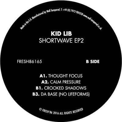 Kid Lib - Shortwave EP 2 - Unearthed Sounds