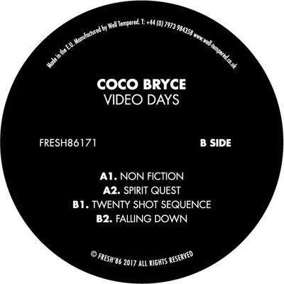 Coco Bryce - Video Days - Unearthed Sounds