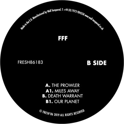 FFF - FRESH86183 - Unearthed Sounds
