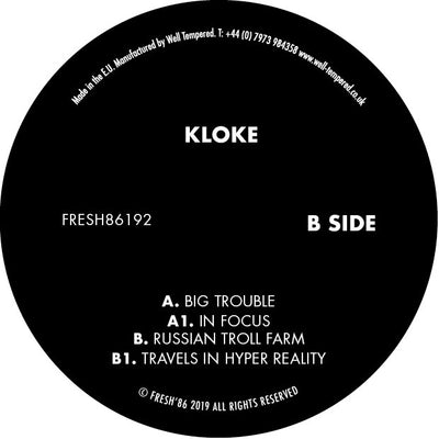 Kloke - Big Trouble - Unearthed Sounds