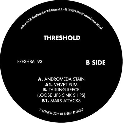 Threshold - Andromeda Stain - Unearthed Sounds