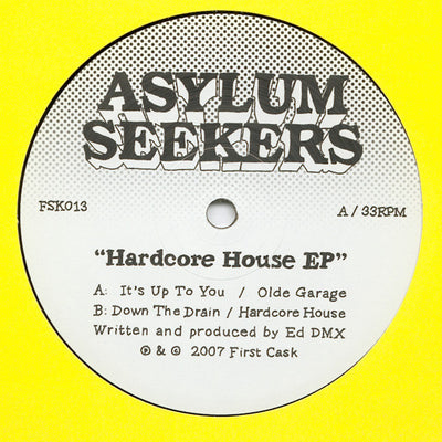 DMX Krew - Hardcore House EP - Unearthed Sounds