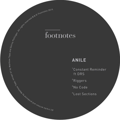Anile - No Code - Unearthed Sounds