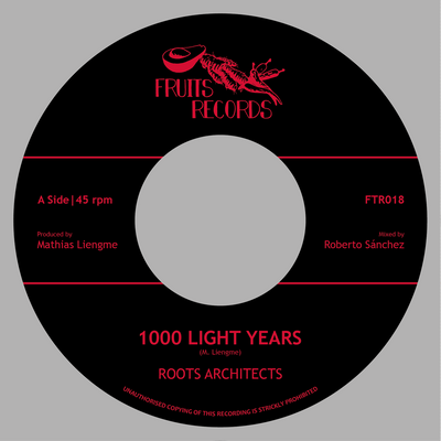 "Roots Architects - 1000 Light Years / 1000 Dub Years [7"" Vinyl]"