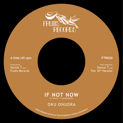 "Oku Onuora - If Not Now / Dubword Warrior [7"" Vinyl] - Unearthed Sounds"