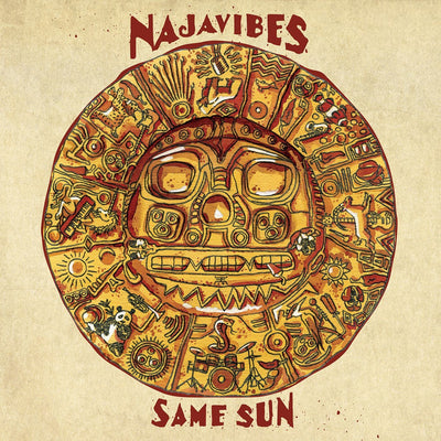 Najavibes - Same Sun [CD] - Unearthed Sounds